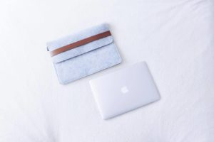 Macbook Air Filz Hülle - grau